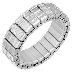 Ocelový prsten - RWS018BA