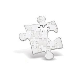 Ocelový přívěsek Puzzle
