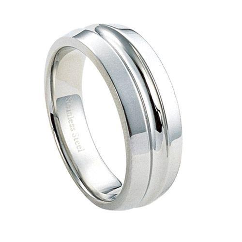 Ocelový prsten - RSS302