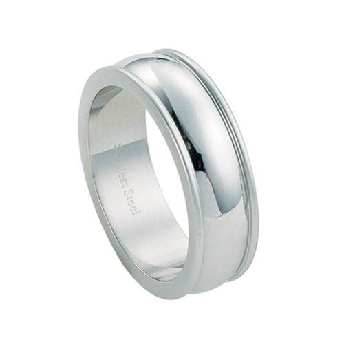 Ocelový prsten - RSS307