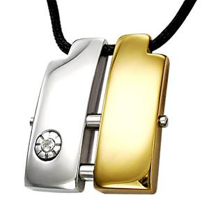 Ocelový náhrdelník - BPC095BA