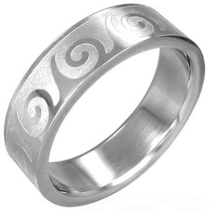 Ocelový prsten - RRR068BA