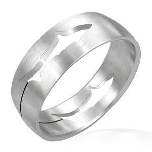 Ocelový prsten - RCT054BA