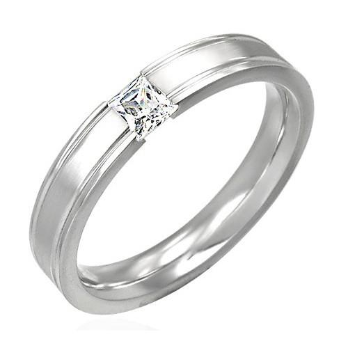 Ocelový prsten - RAH042BA