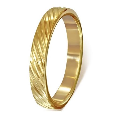 Ocelový prsten - LRC358BA - Velikost 63 (11)